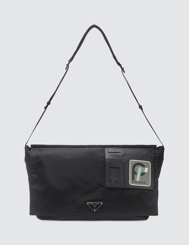 Prada ID Card Messenger