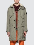 Stone Island Two Layering Fishtail Parka