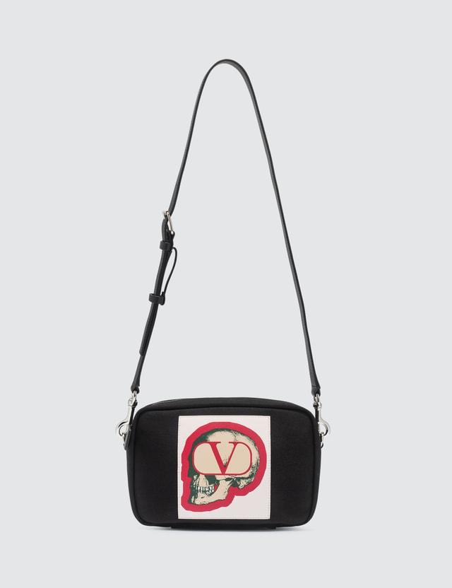 Valentino Valentino x Undercover Patch Skull Crossbody Bag