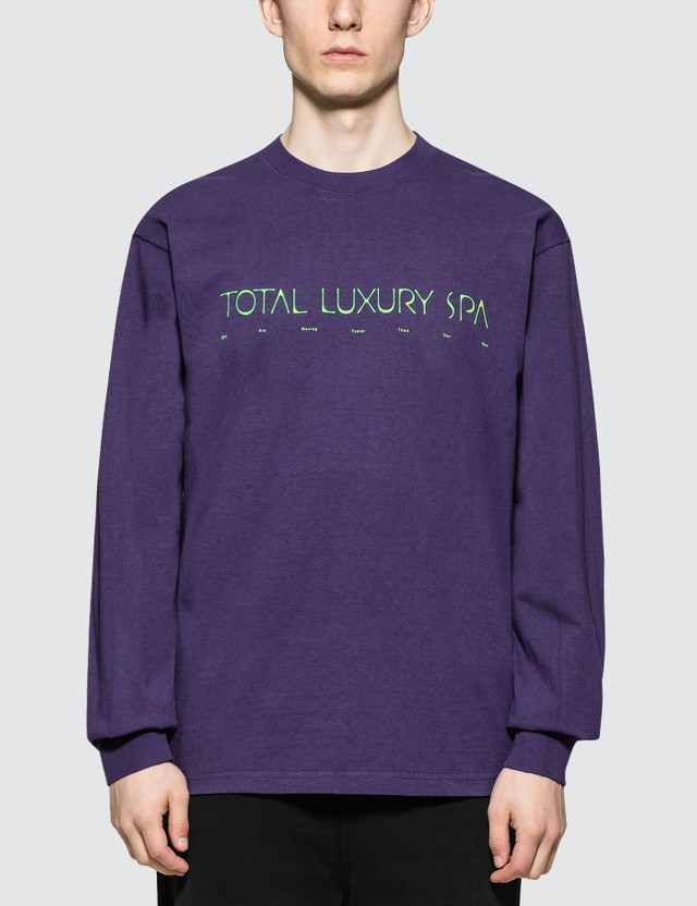 Total Luxury Spa Thermal Bath Fountain Of Youth L/S T-Shirt