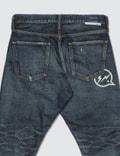 Denim By Vanquish & Fragment One Year Wash Ankle Cut Denim Jeans