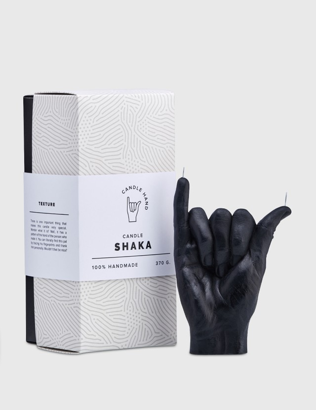 Candle Hand SHAKA Candle Black Unisex