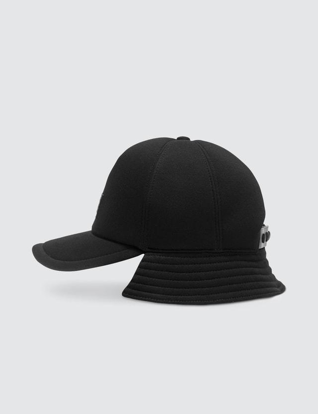Burberry Logo Appliqué Reconstructed Baseball Cap Black Women
