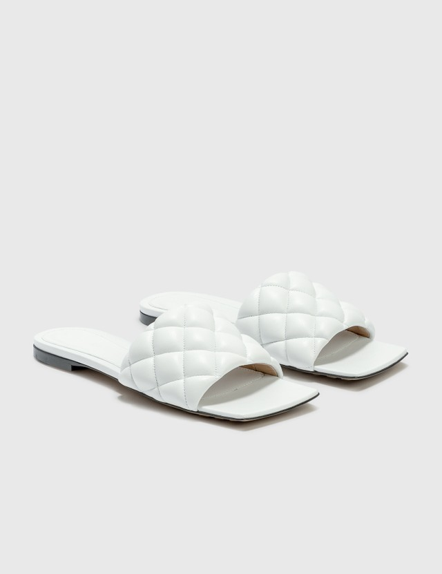 Bottega Veneta Flat Padded Sliders