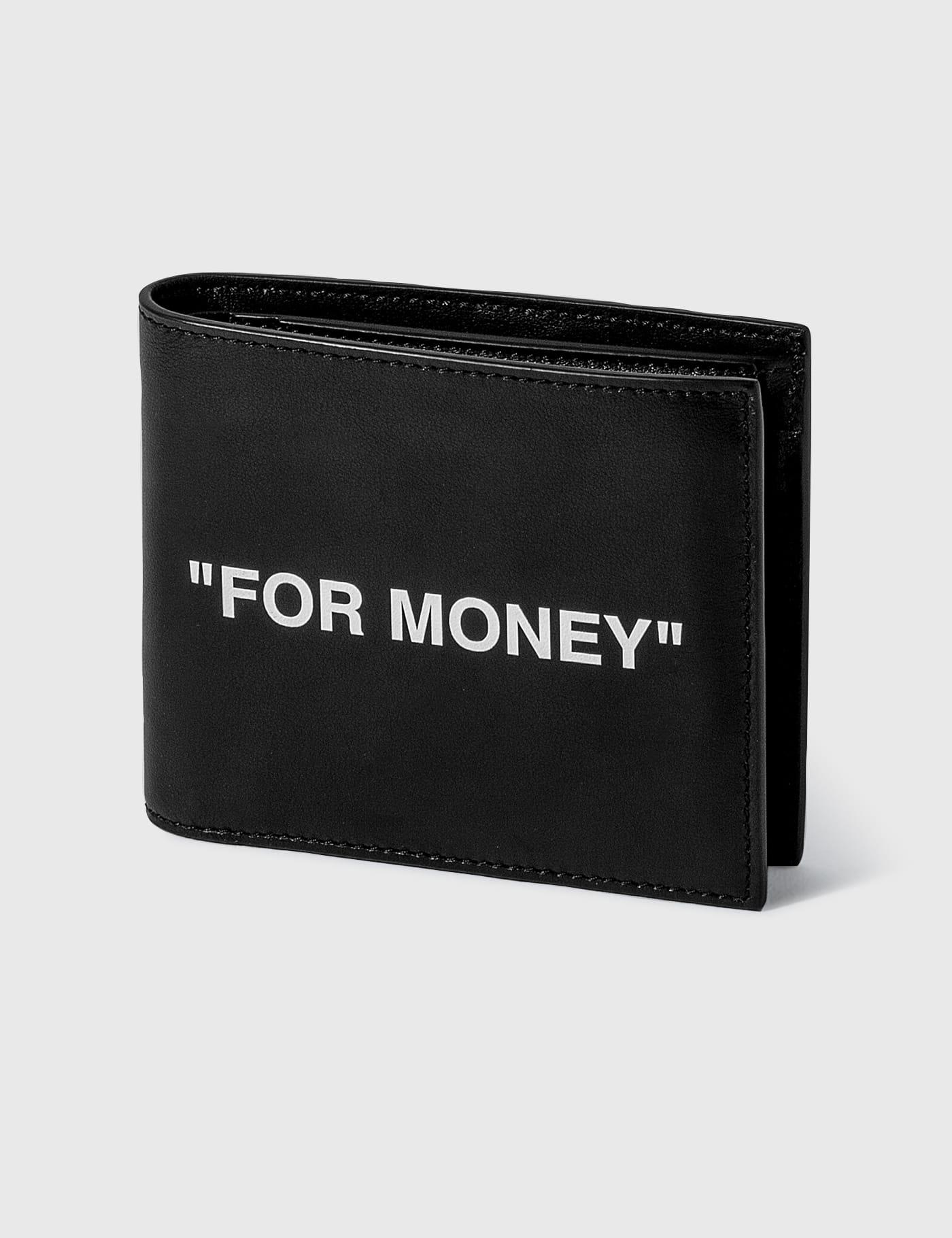 FOR MONEY Bifold Wallet