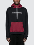 Alexander Wang Compact Fleece Two Tone Logo Hoodie Picture
