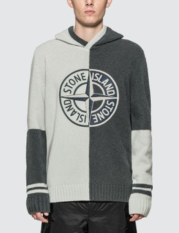 Stone Island Compass Logo Knitted Jumper