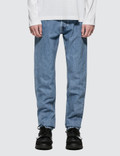 Helmut Lang Straight Leg Washed Jeans Picture