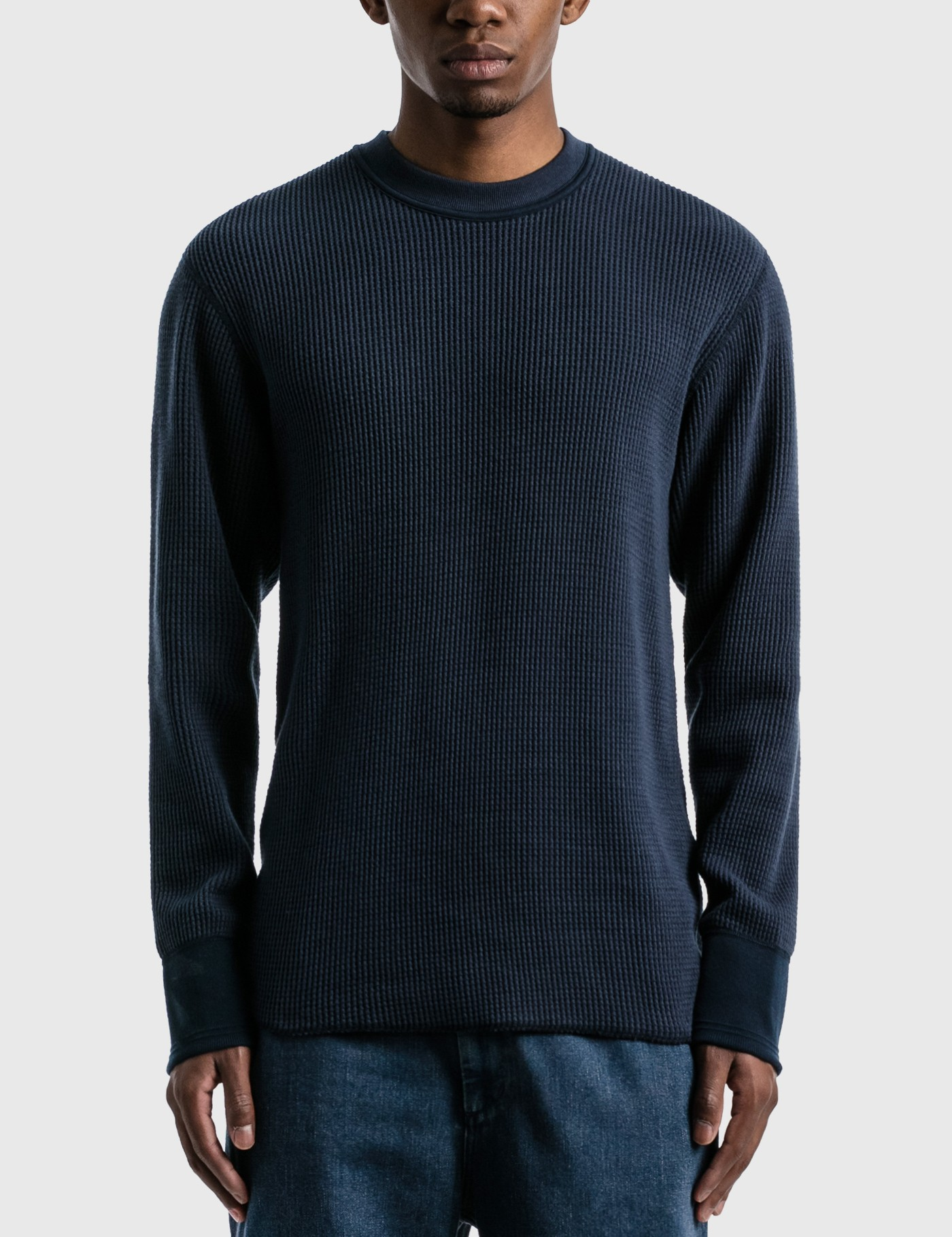 Crew Neck Thermal Long Sleeve T-shirt