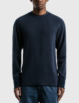 Nanamica Crew Neck Thermal Long Sleeve T-shirt