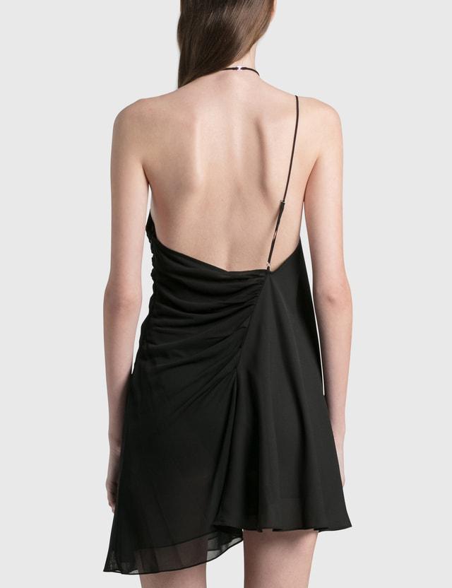 Nensi Dojaka Cross Front Cami Dress Black Women