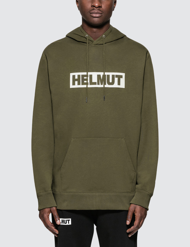 Helmut Lang Helmut Logo Hoodie