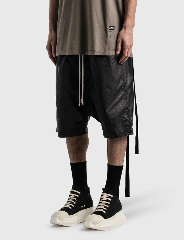 Rick Owens Drkshdw Drawstring Pods Shorts Black Men