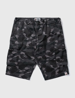 BAPE Bape Black Camouflage Shorts