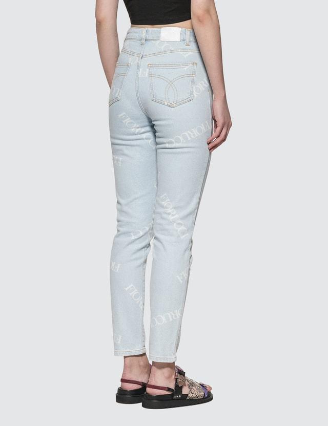 Fiorucci Scattered Logo Tara Jeans