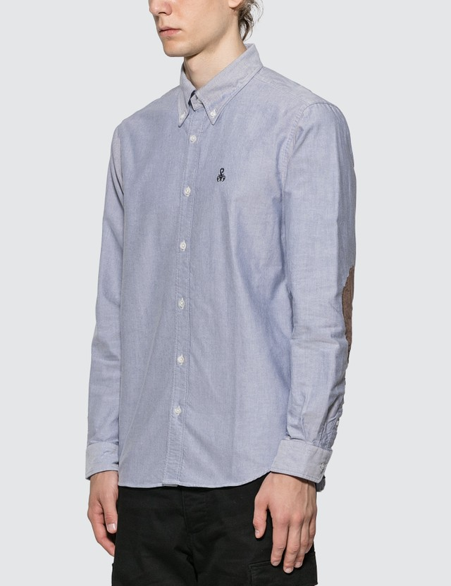 SOPHNET. Elbow Patch B.D Shirt