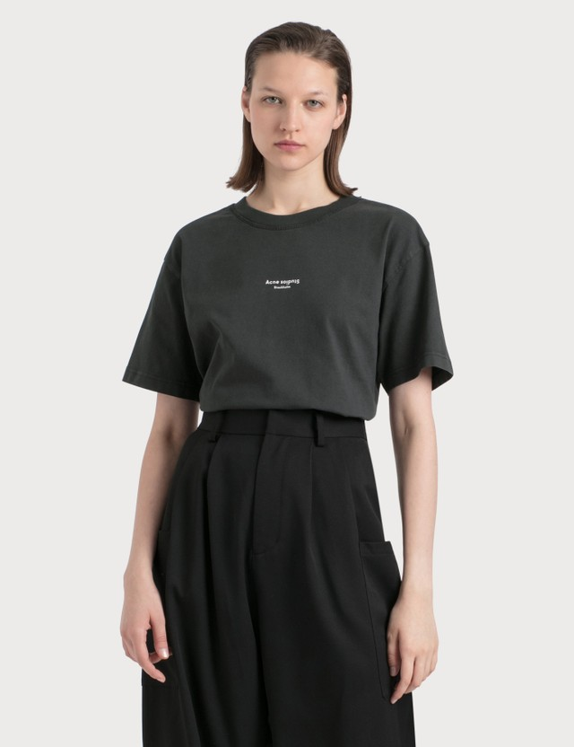 Acne Studios Edie Stamp T-shirt Black Women