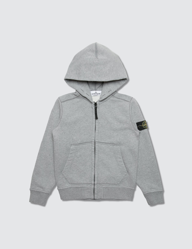 Stone Island Basic Zip Up Infant Hoodie