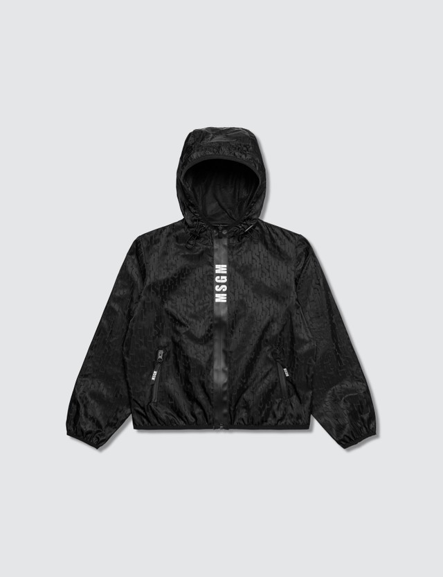 MSGM Monogram Hooded Jacket