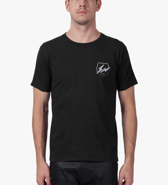 Medicom Toy Black/White BEARTEE x fragment design T-Shirt
