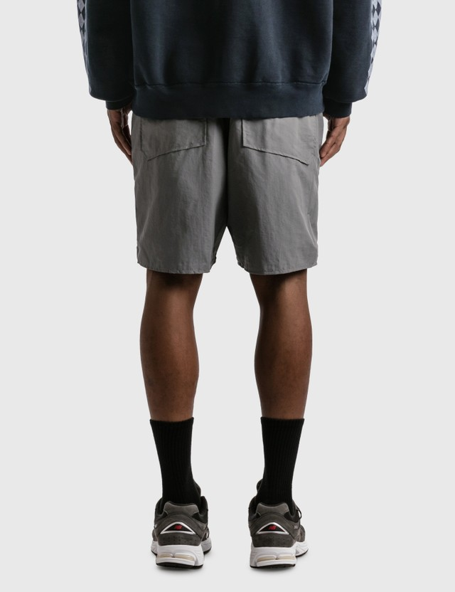 Rhude Logo Shorts Grey Men
