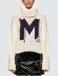 Moncler Roll Neck Knitted Sweater Picutre