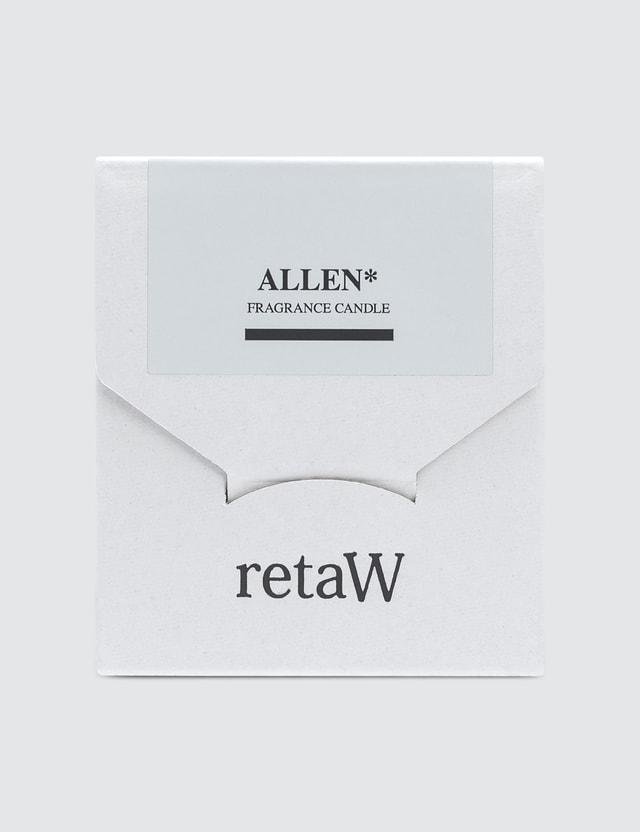 Retaw Allen White Fragrance Candle