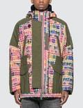 Sacai Floral Stripe Jacquard Blouson Jacket Picutre