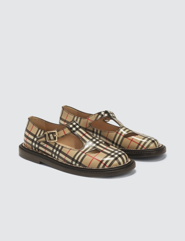 Burberry T-bar Shoes