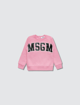 MSGM Maglia Felpa Baby Girl