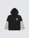 Versace Hooded L/S T-Shirt With Medusa Logo (Toddler) 사진