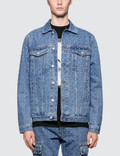 1017 ALYX 9SM Logo Check Denim Jacket Picture