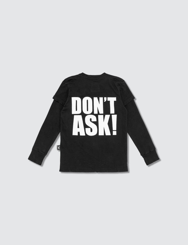 NUNUNU Don't Ask! Long Sleeve T-shirt (Kids)