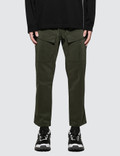 White Mountaineering Stretched 8/10 Length Tapered Pants Picutre