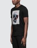 Alexander McQueen Floral Box Skull Print S/S T-Shirt