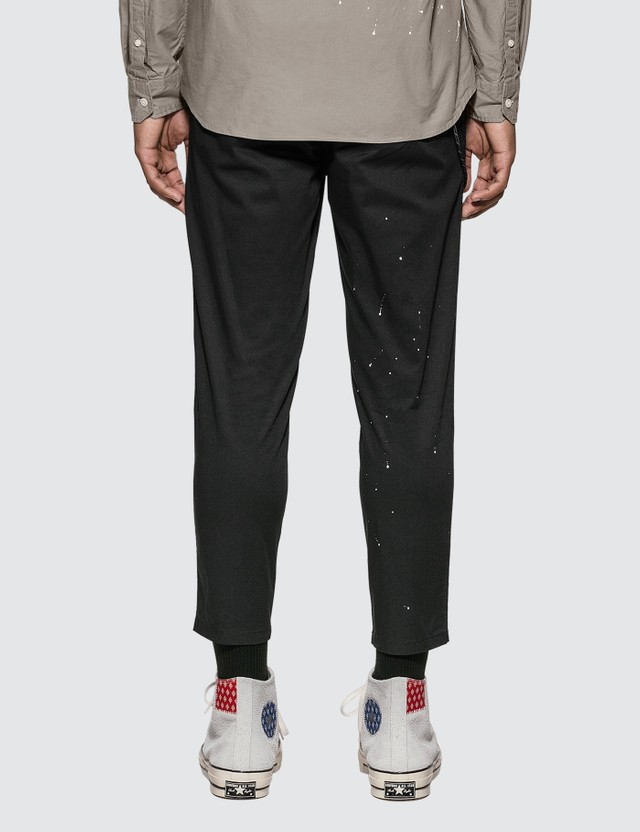 uniform experiment Carrot Fit Dripping Chino Pants