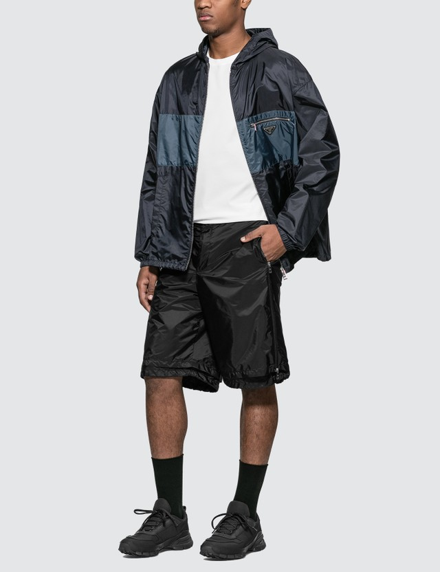 Prada Hooded Nylon Jacket