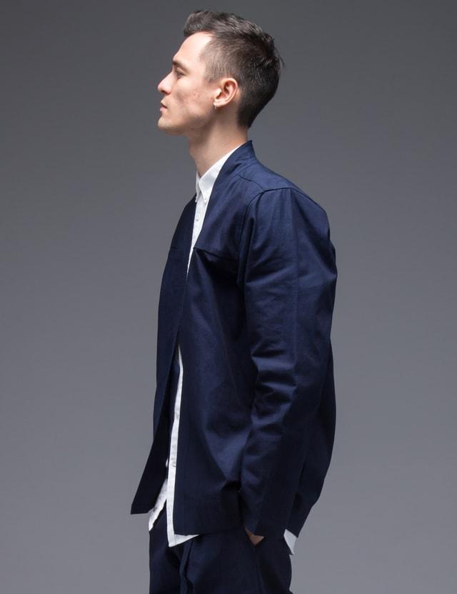The Common-Folk Osaka Indigo Yukata Kimono Jacket