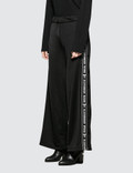 Alexander Wang.T Sleek French Terry Pull-On Pant with Logo Tape