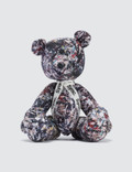 "Medicom Toy Teddy Bear ""Jackson Pollock Studio 2"" Picture"
