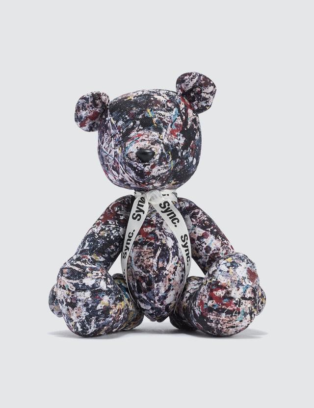 "Medicom Toy Teddy Bear ""Jackson Pollock Studio 2"""