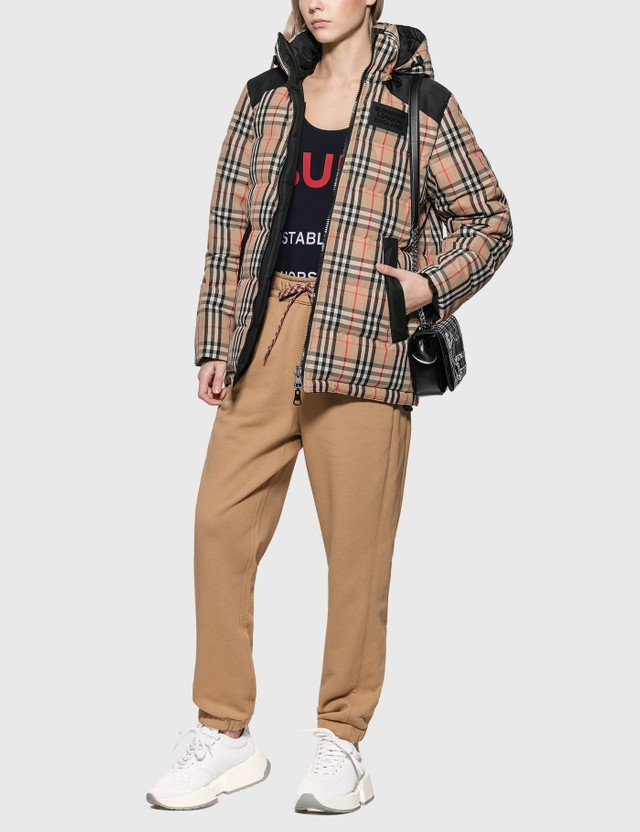 Burberry Reversible Vintage Check Recycled Polyester Jacket