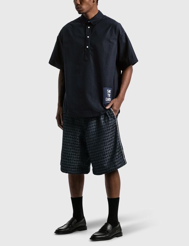 Emporio Armani NewLife Nylon Oversized Bermuda Shorts Blupieddepoule Men