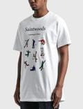 Saintwoods Learn To Dance T-Shirt White Men