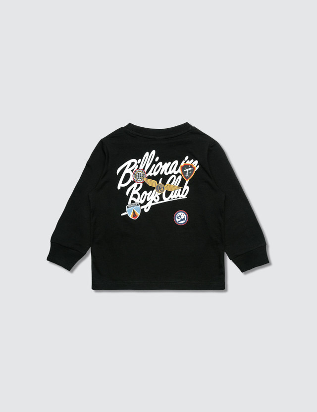Billionaire Boys Club BB Script L/S T-Shirt