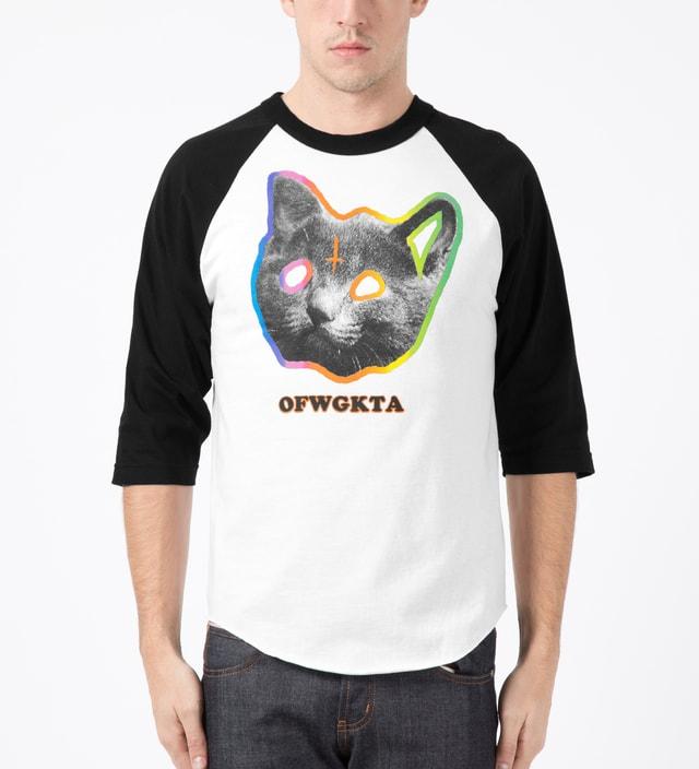 Odd Future Black OFWGKTA Tron Cat Raglan