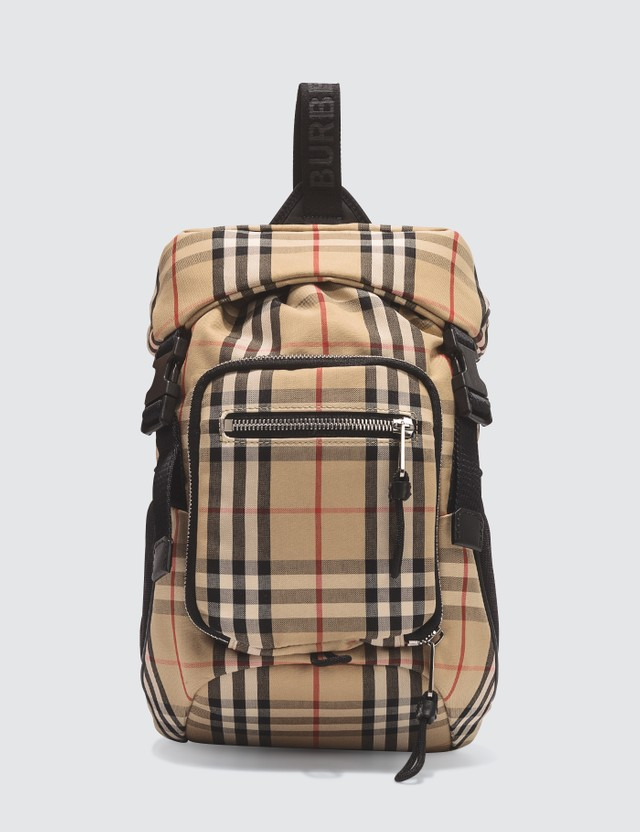 Burberry Vintage Check Bonded Backpack
