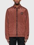 Stone Island Nylon Zip Overshirt Jacket Picutre