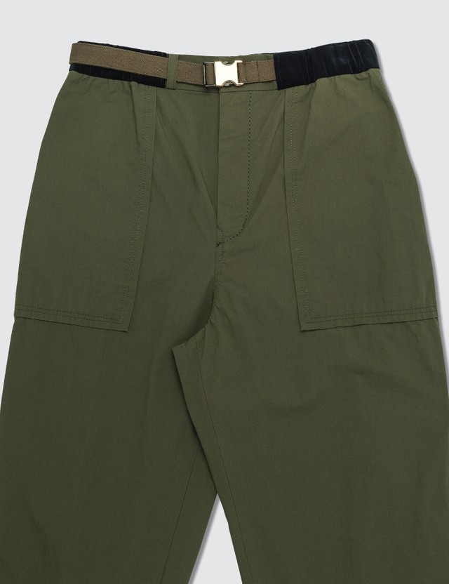 Sacai Fatigue Cropped Pants