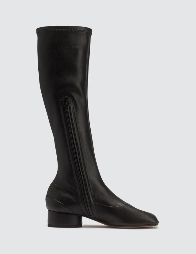 Maison Margiela Stretch Leather Long Boots